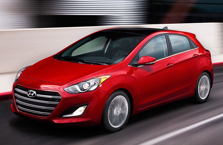 2017 Hyundai Elantra GT in Red Color