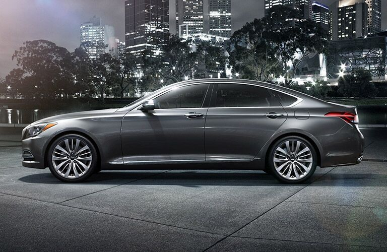 2016 Hyundai Genesis Elegant Side View