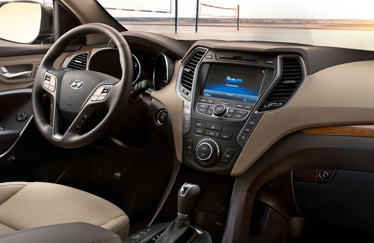2016 Hyundai Santa Fe Interior