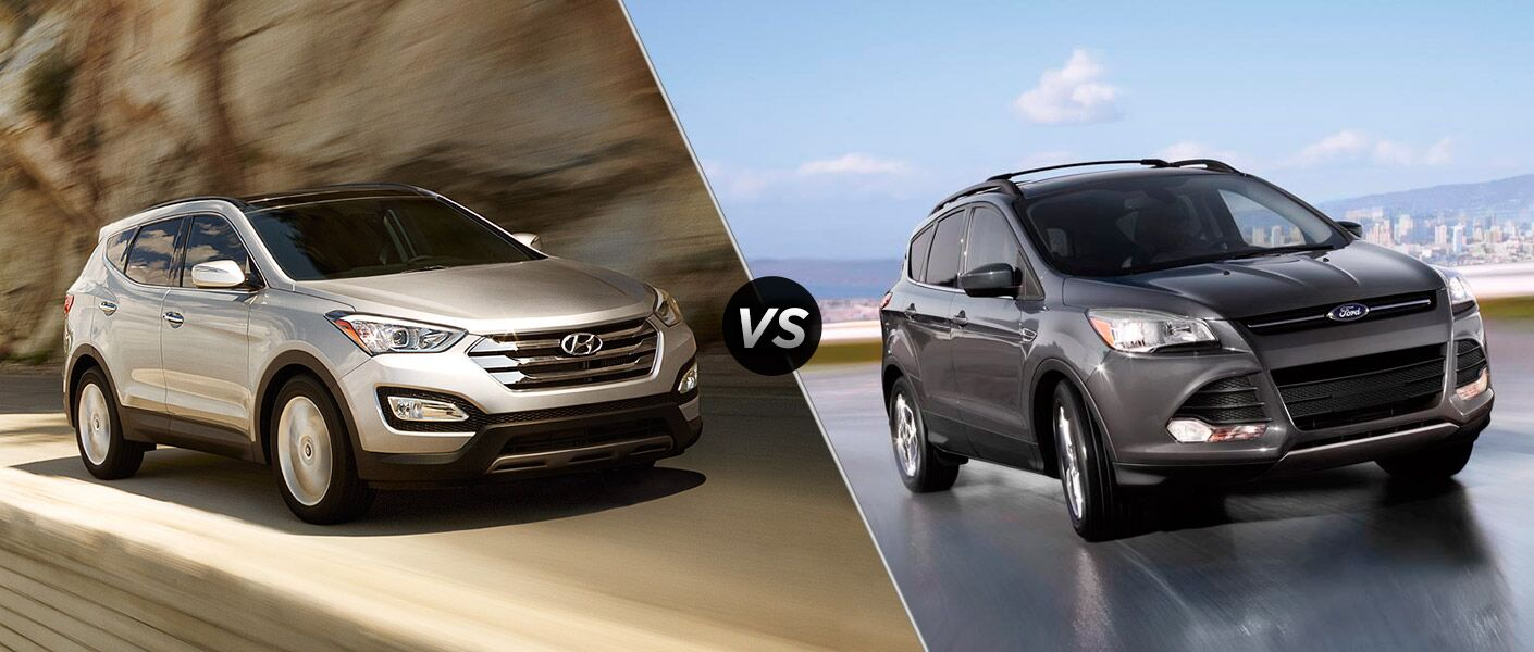 2016 Hyundai Santa Fe Sport vs 2016 Ford Escape