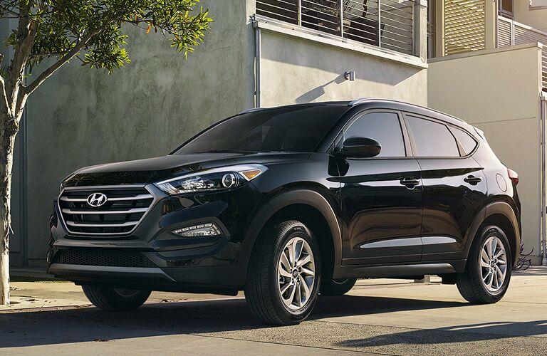 2017 Hyundai Tucson Black Exterior