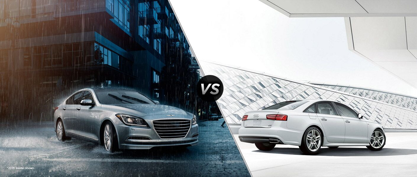 2016 Hyundai Genesis vs 2016 Audi A6