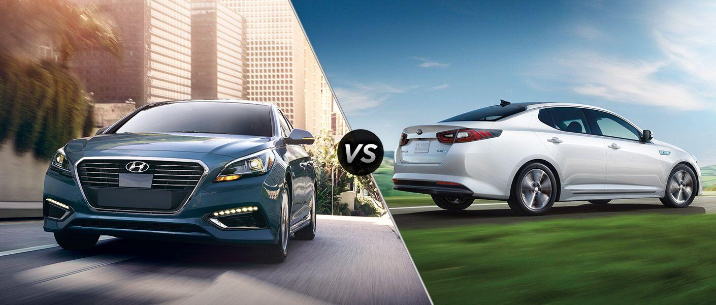 2016 Hyundai Sonata Hybrid vs 2016 Kia Optima Hybrid