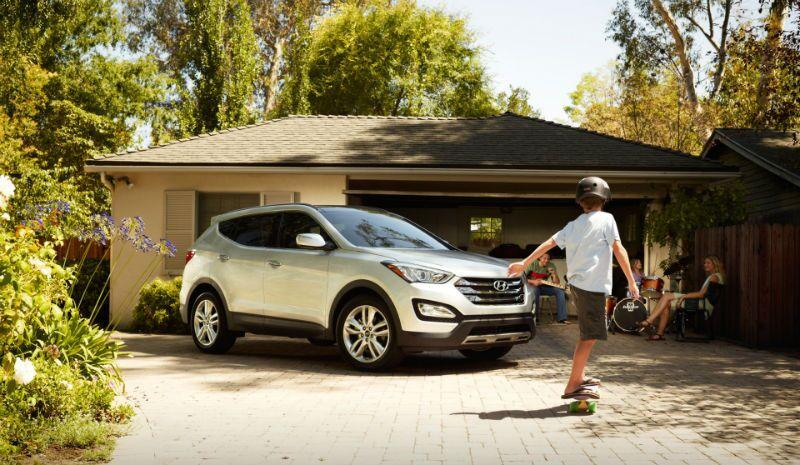 2016 Hyundai Santa Fe Sport Side View