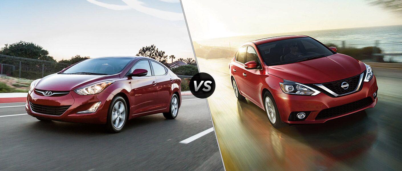 2016 Hyundai Elantra vs 2016 Nissan Sentra