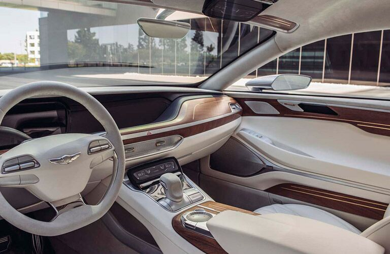 2017 Hyundai Genesis interior features and technology
