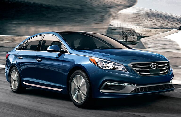 2017 Hyundai Sonata Sporty Exterior Features