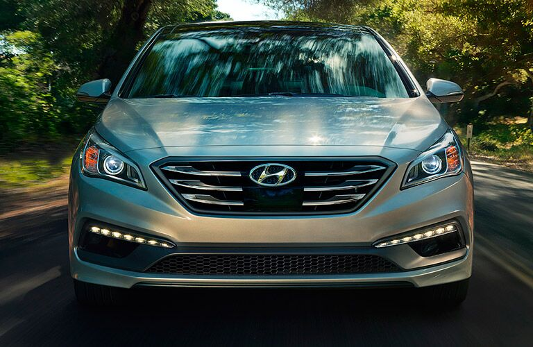 2017 Hyundai Sonata Headlights and Fascia