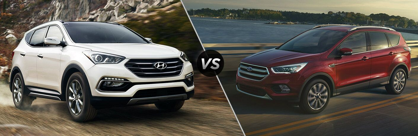 2017 Hyundai Santa Fe Sport vs 2017 Ford Escape