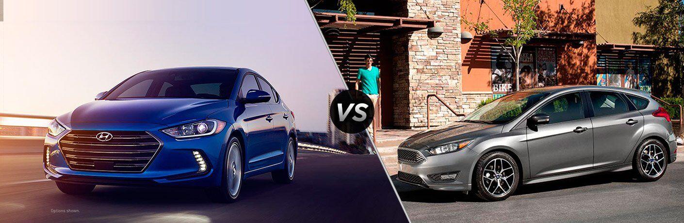 2017 Hyundai Elantra vs 2017 Ford Focus