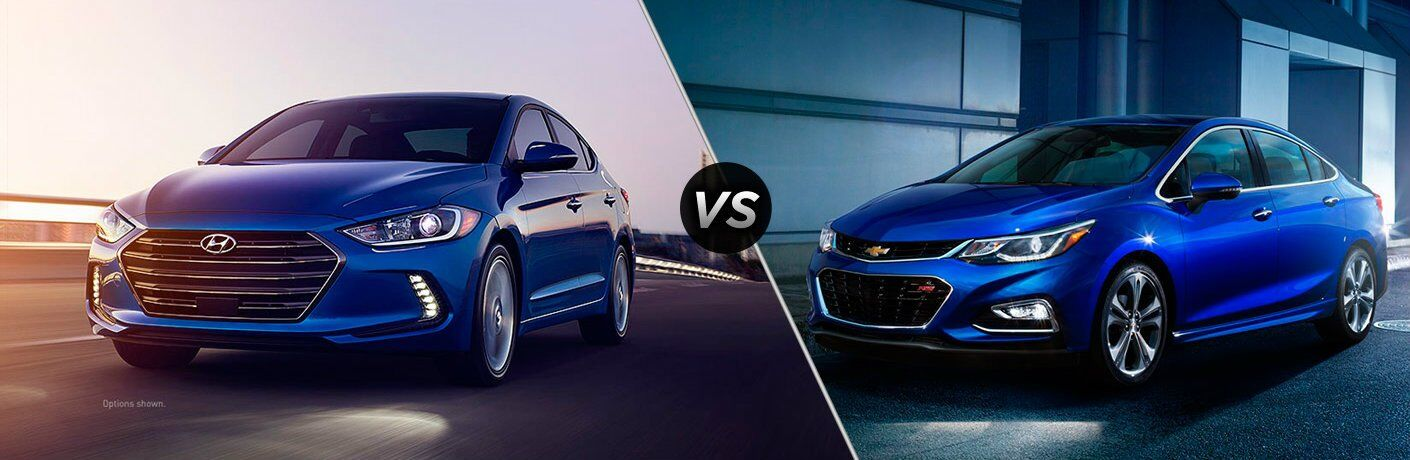 2017 Hyundai Elantra vs 2017 Chevrolet Cruze