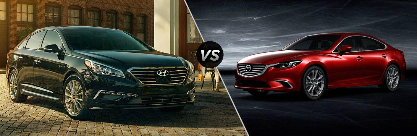 2017 Hyundai Sonata vs 2017 Mazda6