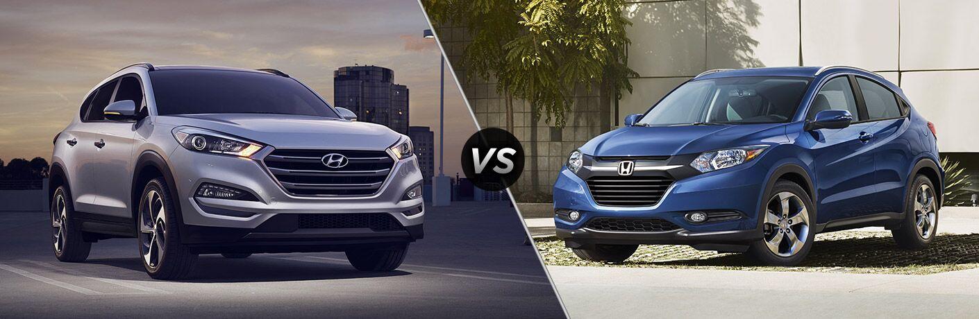 2017 Hyundai Tucson vs 2017 Honda HR-V