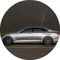 2017 Genesis G80 Automatic Emergency Braking