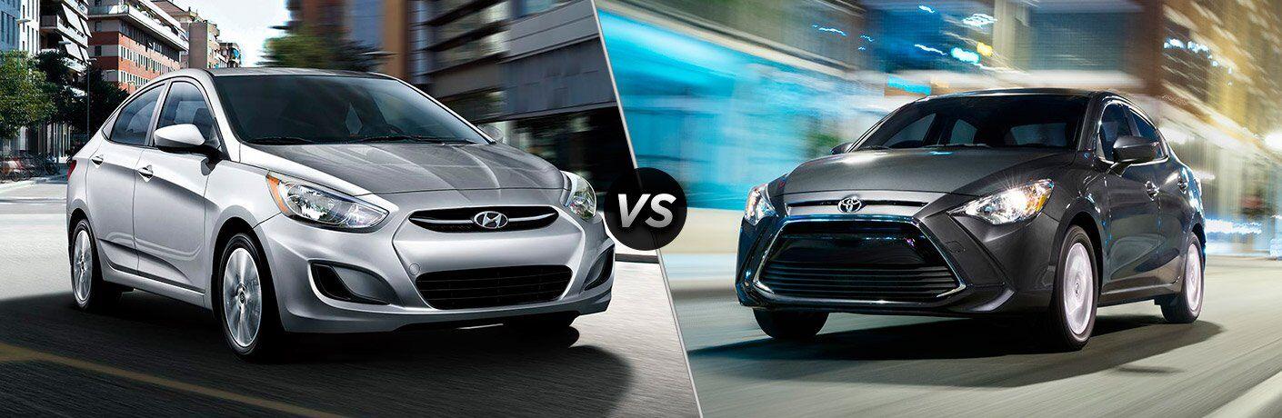 2017 Hyundai Accent vs 2017 Toyota Yaris