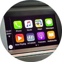 2017 Hyundai Azera Apple CarPlay and Android Auto