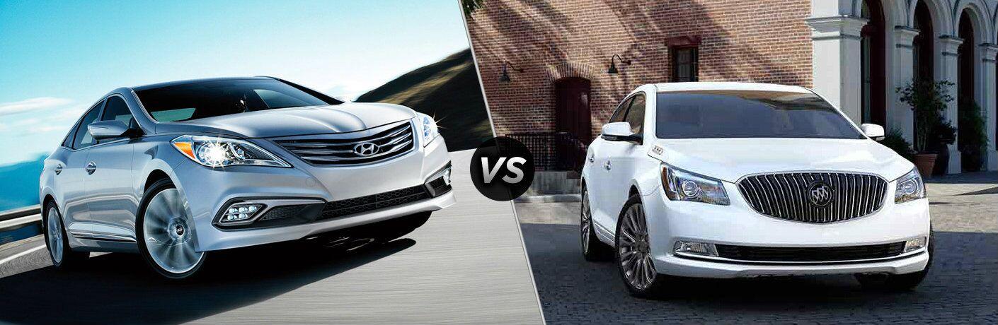 2017 Hyundai Azera vs 2017 Buick LaCrosse