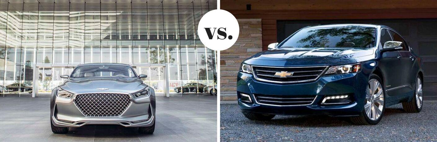 2017 Hyundai Genesis vs. 2017 Chevrolet Impala