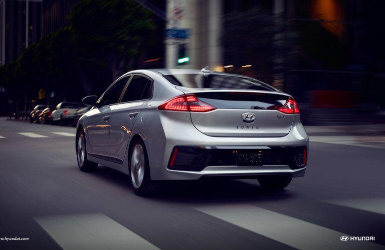 2017 Hyundai Ioniq exterior features
