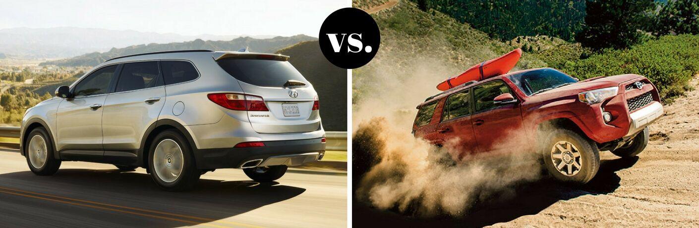 2017 Hyundai Santa Fe vs 2017 Toyota 4Runner