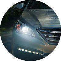 2017 Hyundai Sonata Dynamic Bending Ligth
