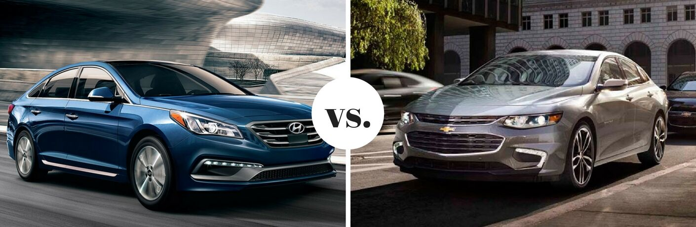 2017 Hyundai Sonata vs 2017 Chevrolet Malibu