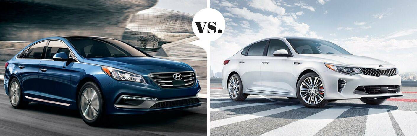 2017 Hyundai Sonata vs 2017 Kia Optima