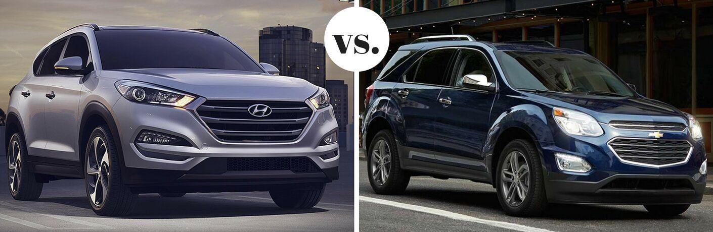 2017 Hyundai Tucson vs 2017 Chevrolet Equinox