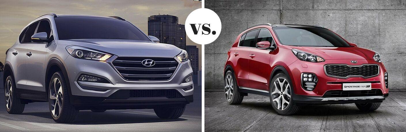 2017 Hyundai Tucson vs 2017 Kia Sportage