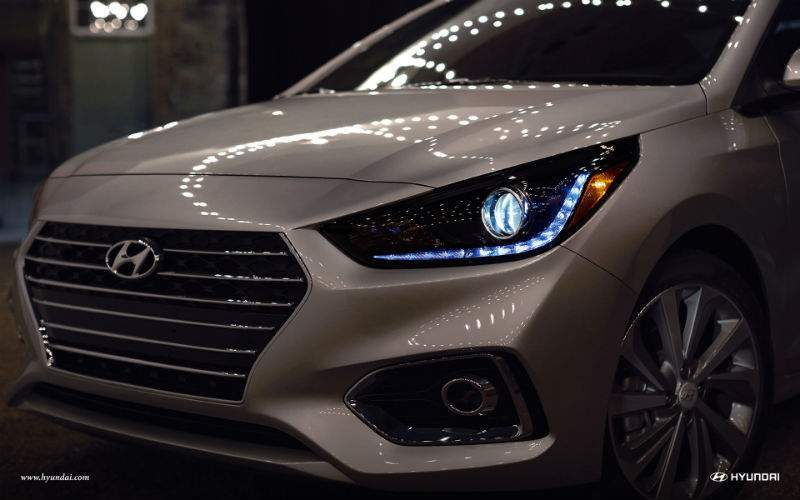 2018 hyundai accent led headlight