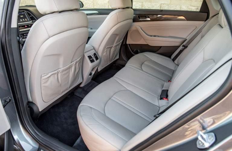 2018 hyundai sonata rear seating