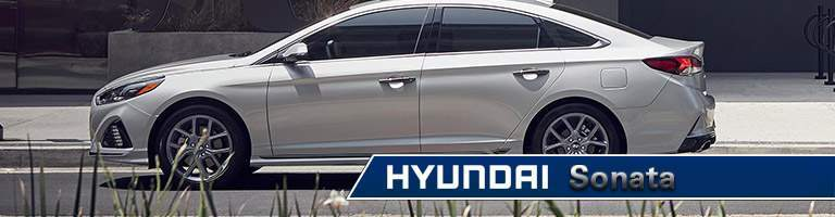 2018 hyundai sonata side view