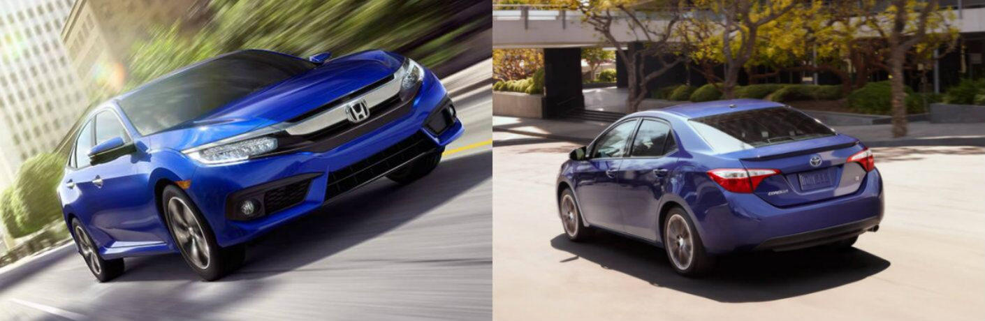 2016 honda civic vs 2016 toyota corolla. Black Bedroom Furniture Sets. Home Design Ideas