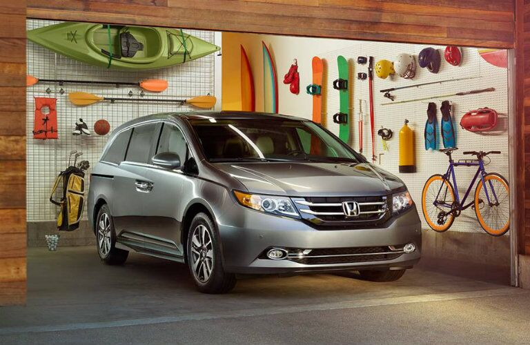 2016 Honda Odyssey cargo space