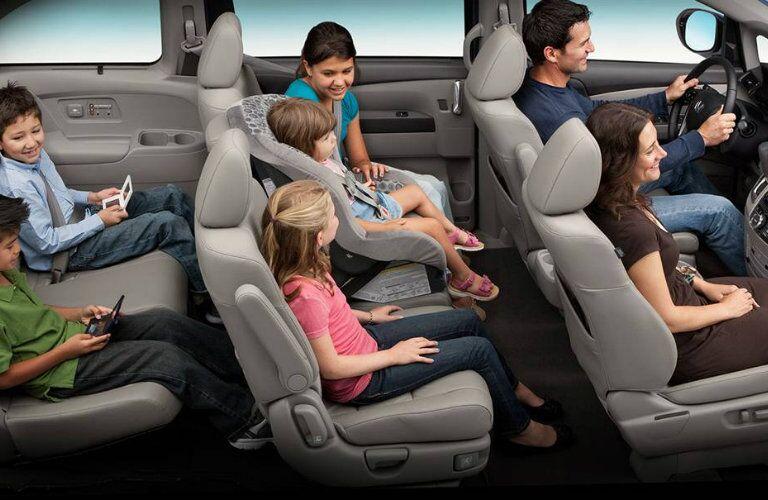 2016 Honda Odyssey passenger space