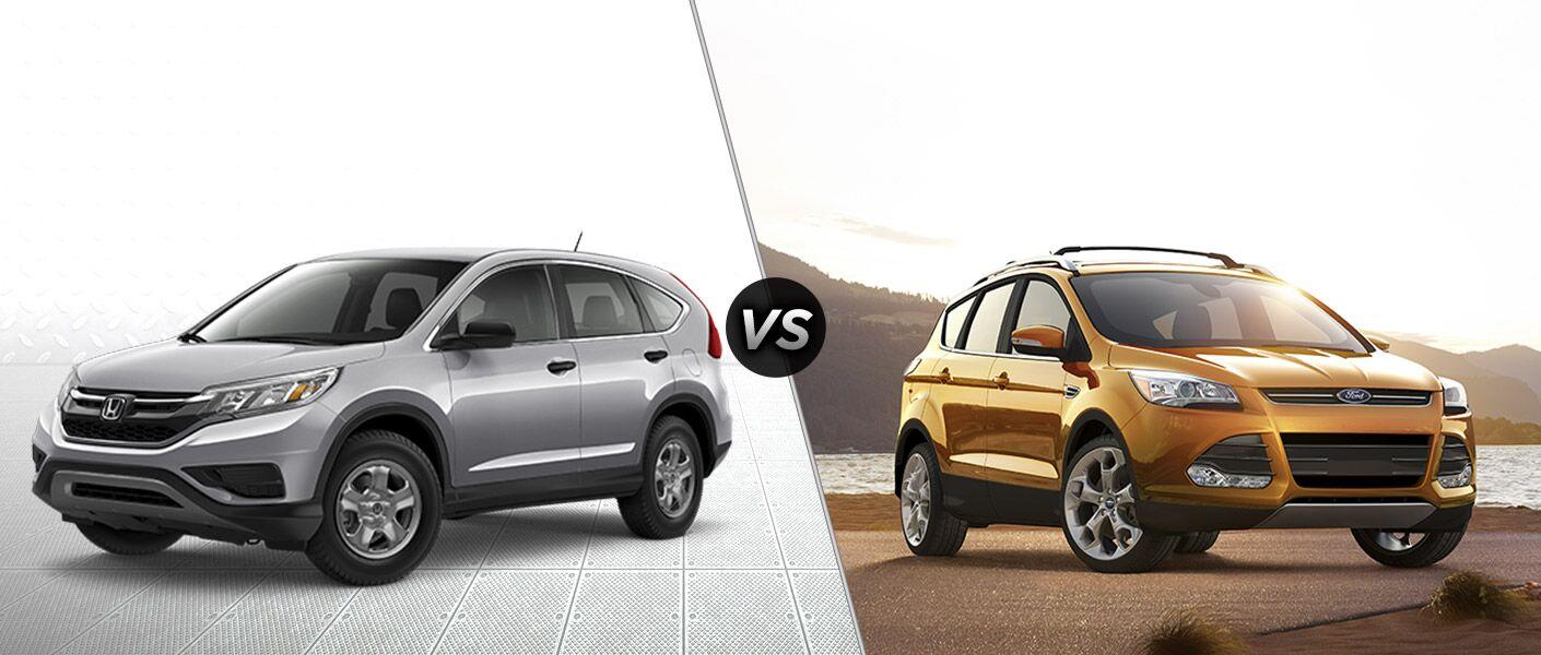 Honda Financial Services Payment >> 2016 Honda CR-V vs 2016 Ford Escape