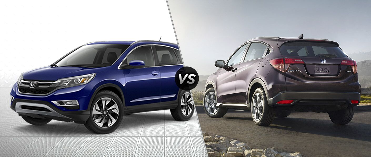 Honda Financial Services Payment >> 2016 Honda CR-V vs 2016 Honda HR-V