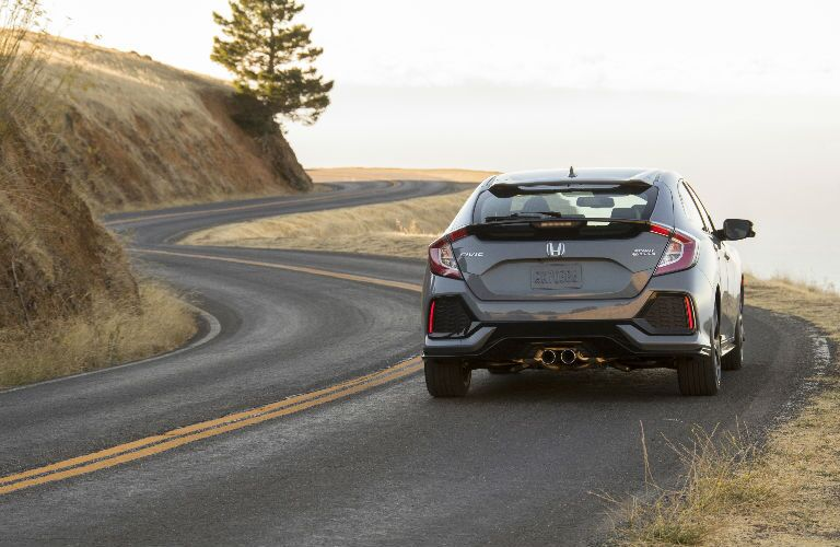 2017 Civic Hatchback Rear View