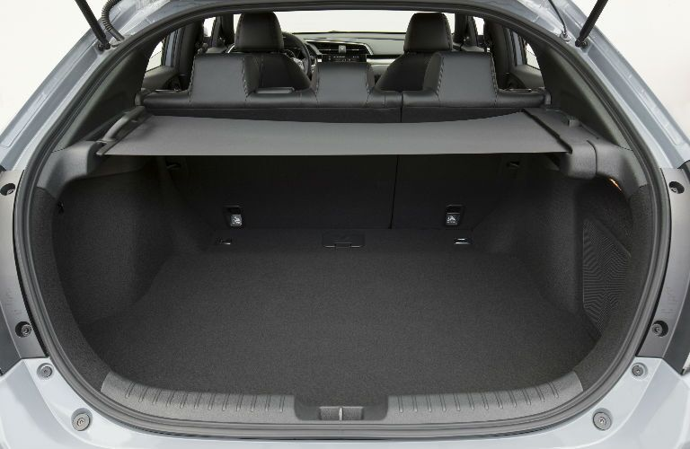 2017 Civic Hatchback Cargo Space