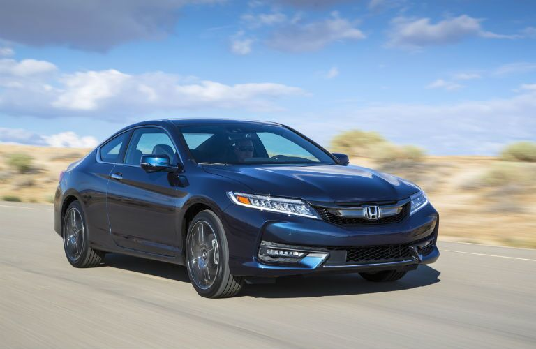 Accord Coupe in Blue