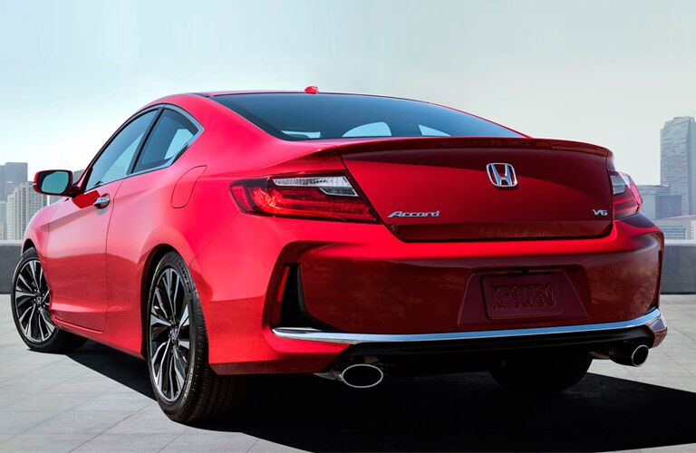 Accord Coupe in Red