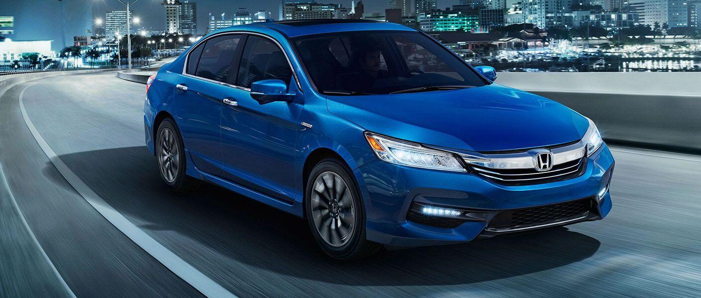 Honda Accord Hybrid in Blue
