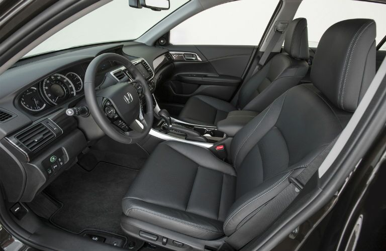 2017 Accord front cabin area