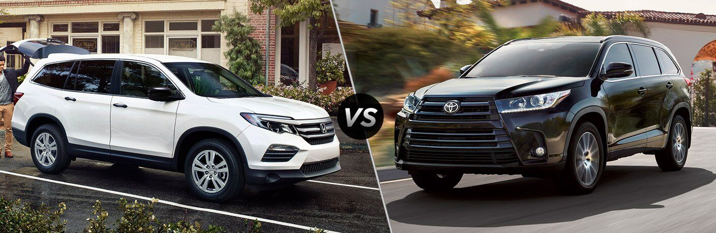 2017 Pilot vs 2017 Highlander