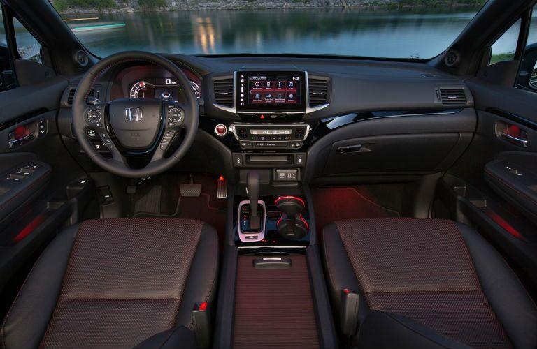 Ridgeline Black Edition Interior