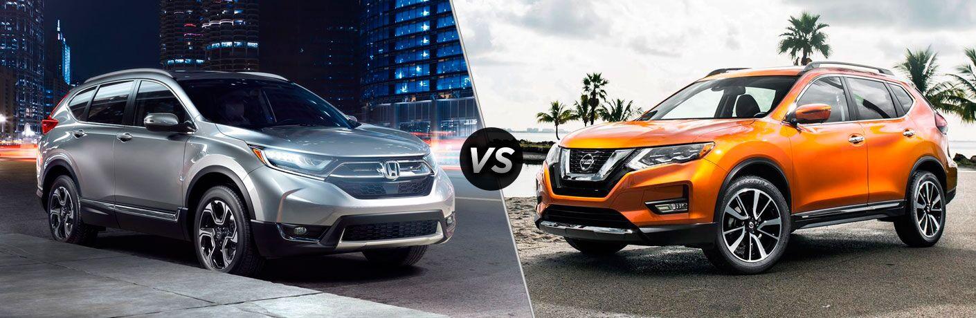 2017 Honda CR-V vs 2017 Nissan Rogue