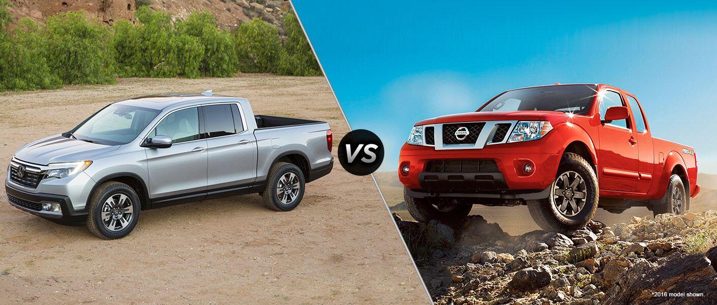 Ridgeline vs Frontier