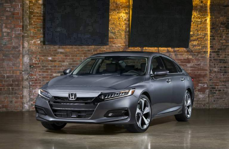 2018 Honda Accord silver front view