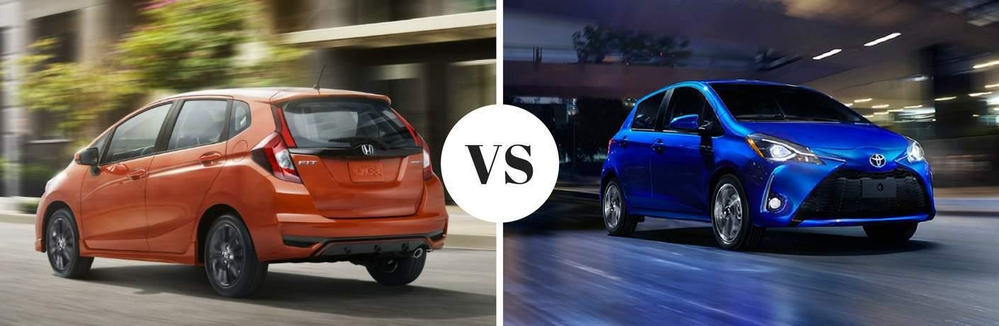 2018 Honda Fit vs 2018 Toyota Yaris
