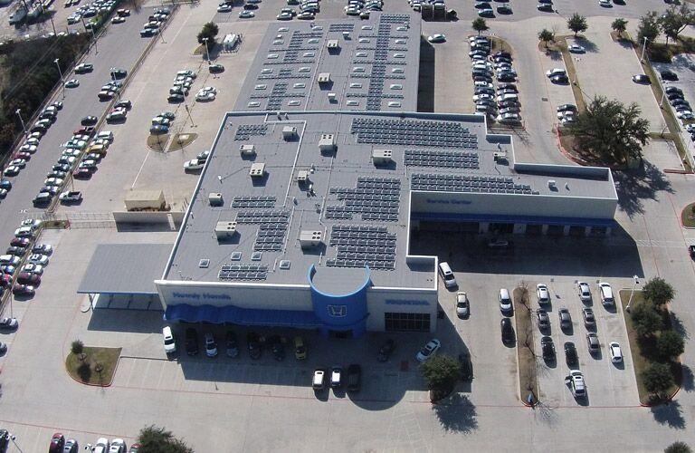 Howdy Honda solar panels